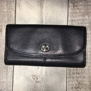 Coach Saffiano Leather Wallet
